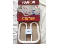 10 x FUSION 2D Compact Fluorescent Lamps B28/835/4P 28 Watt 4 Pin 2k Lumen