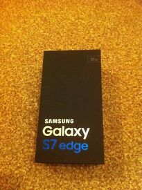 Samsung Galaxy S7 edge brand new boxed 32GB sealed un opened