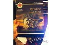 Excellent condition of mice and men textbook