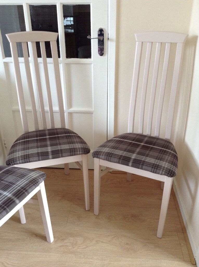 4 upcycled dining room chairs | in doncaster, south yorkshire