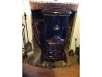 Franco Belge La Parisienne 7 kw multi fuel stove - Antique Style