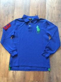 Boys Blue Ralph Lauren Polo Top.