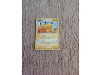Pikachu-Pokemon card