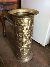 Vintage Brass Stick/Umbrella Stand By Lombard
