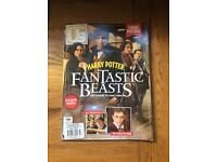 Harry Potter fantastic beasts collectors magazine