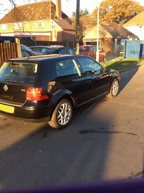 VW Golf GTI 150 diesel. Black 2 door 138000 with comprehensive service history vgc for year