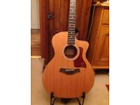 TAYLOR 114ce Guitar plus TAYLOR gigbag- used but VGC and performance ready.Lovely full sound.