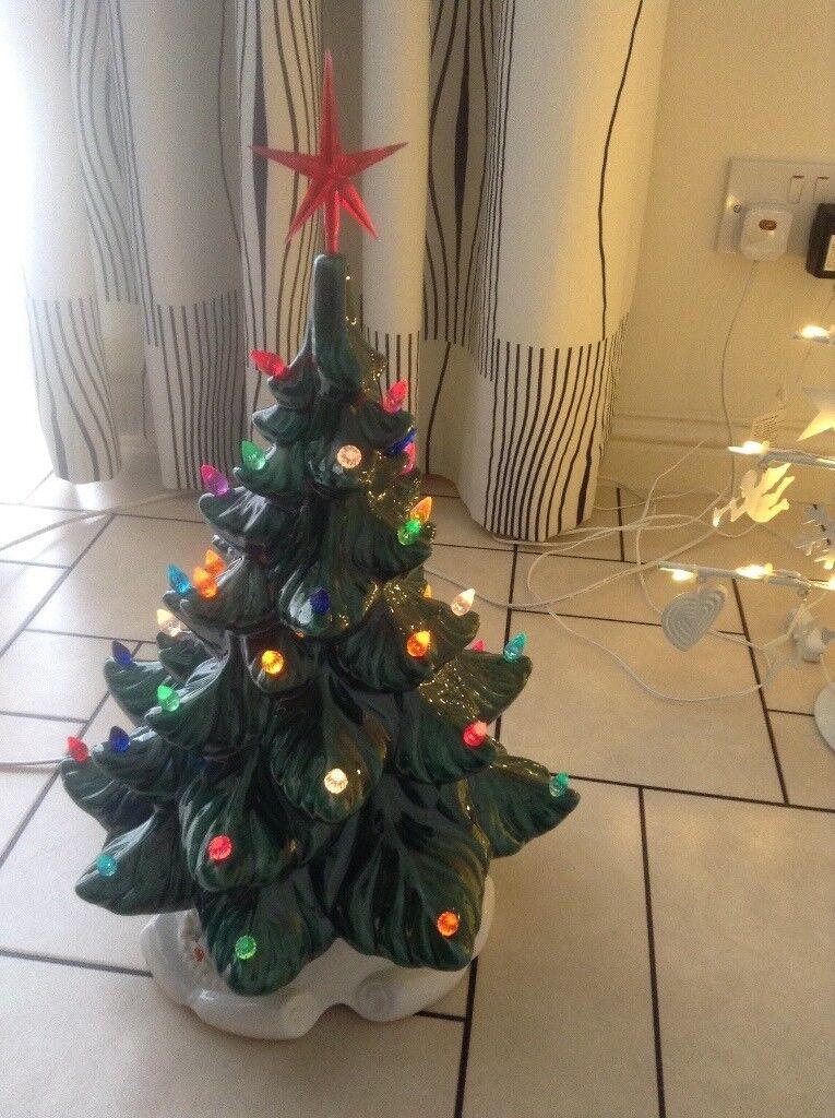 Ceramic Christmas Tree In Insch Aberdeenshire Gumtree
