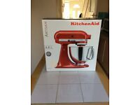 Artisan Kitchen Aid, series 5KSM150PS, colour Almond White, as brand new, never removed from box