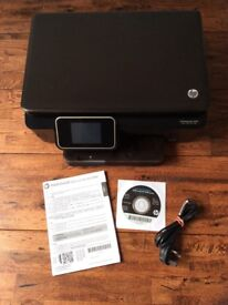 HP Photosmart 6520e all-in-one printer w/ manual and installation CD - for spare parts