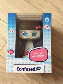 Miss Herbert confused .com collectible brand new in box never opened