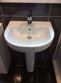 Ideal Basin & Pedetal and tap included