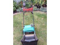 Bosch Electric 400watt lawn scarifier little used.