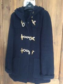 Ladies Top Shop Navy Blue Coat
