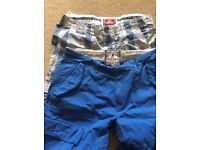 Two pairs of shorts Fat Face and Superdry