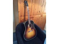Gibson J45 standard acoustic guitar with hard case