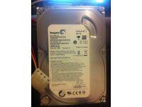 "PC Desktop 3.5"" SATA Hard Drive - 500Gb Seagate"