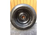 New Genuine Nissan Juke Full Size Spare Wheel with Tyre