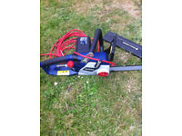 SPEAR AND JACKSON ELECTRIC CHAINSAW