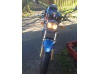 Suzuki 124cc excellent condition, total respray