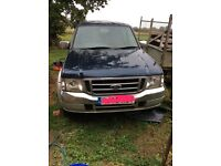 Ford Ranger 2.5 diesel Crew Cab XLT. (East Winch)