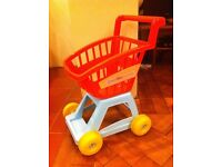 childrens shopping trolley