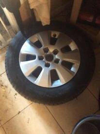 Alloy wheels Audi vw set 4 and tiyers