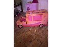 vintage barbie camper van
