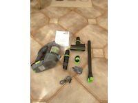 Lightweight Cordlesss Gtech Multi MK Handheld Vacuum