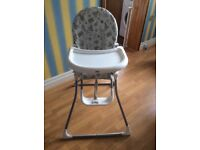 Foldaway High Chair
