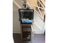 Superfish Home 40 Tropical Fish Tank and cupboard
