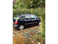 Citroen Xsara Picasso with new parts see description