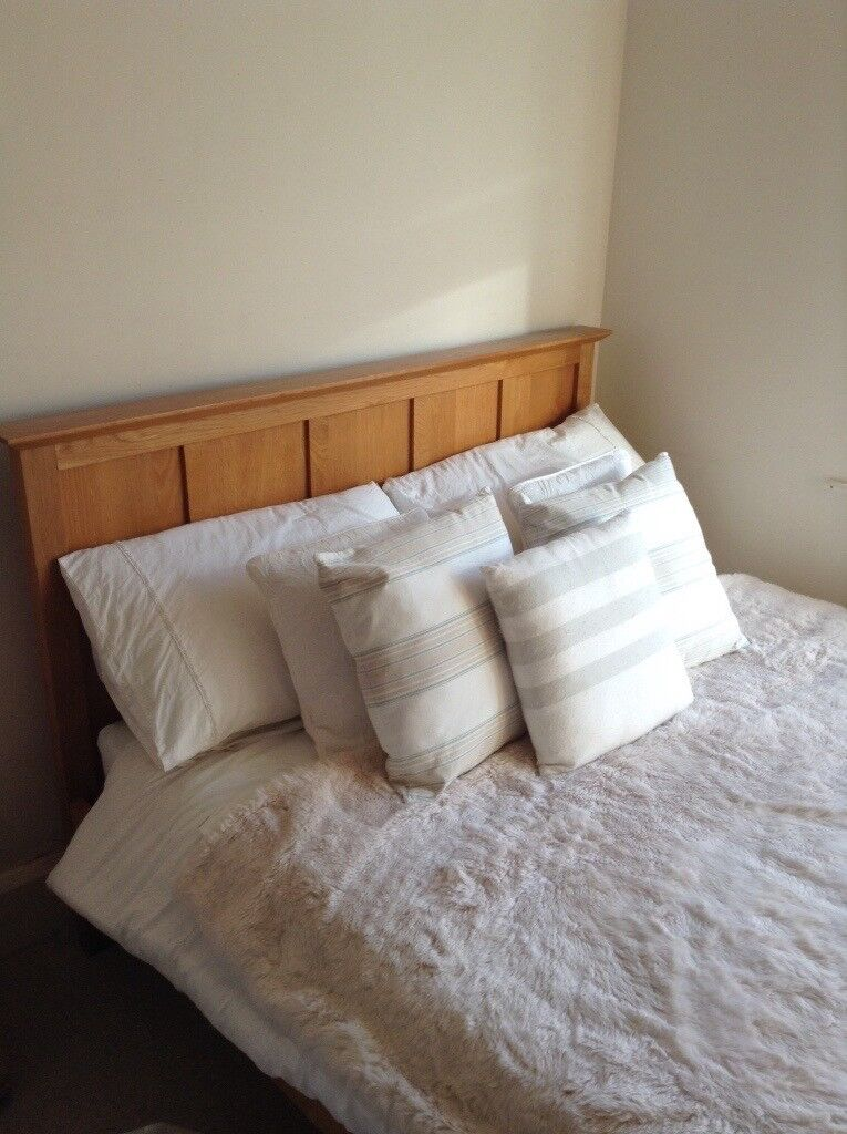 Double bed with mattress from Next