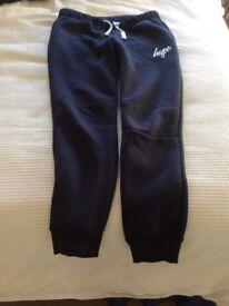 Hype boys navy fleece trousers Age 13