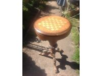 Victorian sewing table in need of TLC