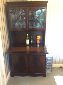 Traditional Mahogany Drinks Cabinet