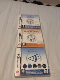 Brain training Ds games