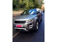 Range Rover evoque dynamic lux, sat nav, FSH, dual screen TV, panoramic roof top spec,