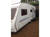 Sterling Eccles jewel 2004 4 berth fixed bed with motor mover