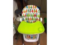 Mammas and Pappas Pesto high chair