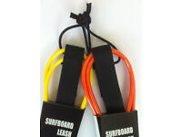 Surfboard Leash 6ft 7ft 8ft 9ft &10ft Top Quality Surf Leashes/ leg rope