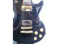 2011 Gibson Les Paul Studio Guitar Ebony with Gold hardware