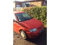 VW polo 1.4 auto with low mileage.