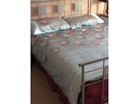 A COMPLETE DOUBLE BED