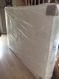 Double bed MATTRESS ONLY.. top quality semi orthopedic mattress