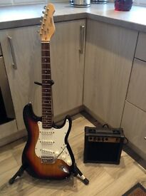Encore electric guitar and amp great starter set