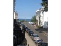 Holiday flat in Scarborough with sea views in great location