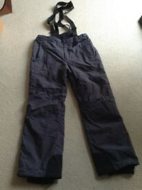 One Body elevation snow ski trousers size L, unused.