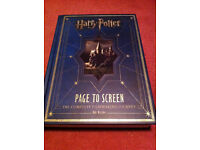 Harry Potter Page to Screen book + The Creature Vault