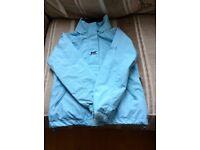Helly Hansen Light Blue age 8 Coat